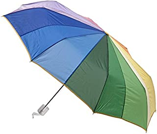CLIFTON UMBRELLAS Rainbow in 16 Colours Umbrella, Rainbow, One Size