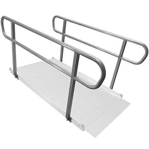 Titan 6' Wheelchair Entry Ramp Handrails Only