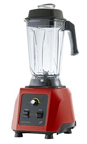 G21 6008101 Perfect Smoothie Mixer Professionale/Frullatore, 6 Lame, 2,5 Litri 1.500 Watt, Rosso