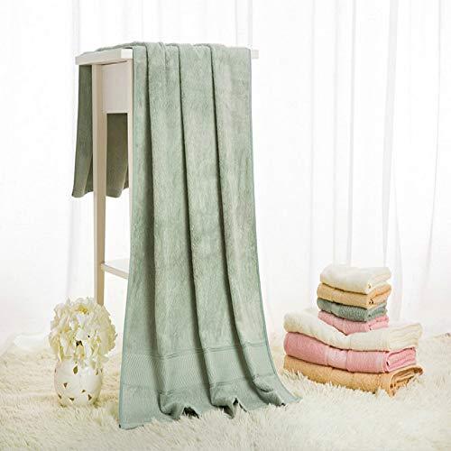 Toallas de baño, toallas lisas de tejido de fibra de bambú, toallas absorbentes
