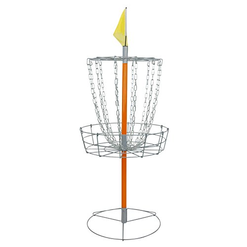 Driftsun Sports Portable Disc Golf Basket Goal, Lightweight Frisbee Target, Steel