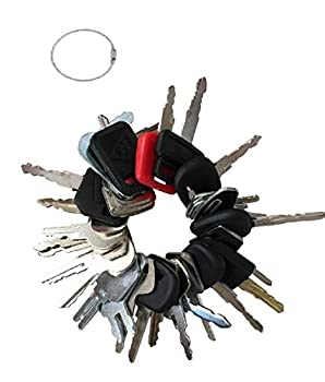 27 Heavy Equipment Construction Ignition Key Blank Replacement Set Custom Cut to fit Equipments