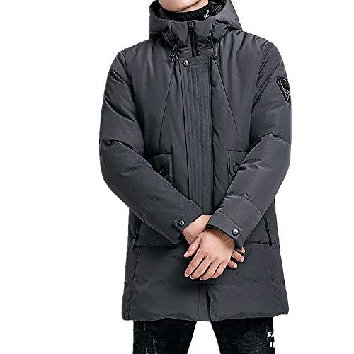 YLSMN tomster jacken Herren Baumwolle Lange Winter Winter Herren Kapuze lässige Baumwollkleidung Herren Dicke warme Jacke Herrenbekleidung XXXXL