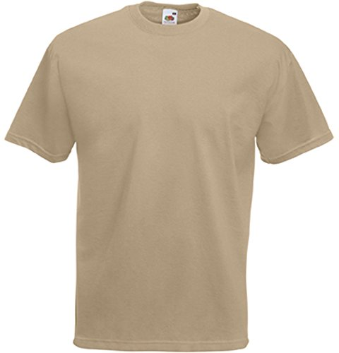 Fruit of the Loom Valueweight T-Shirt Khaki S