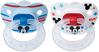 NUK Disney Baby Puller Pacifier, 6-18 Months, Mickey Mouse, 1 pk