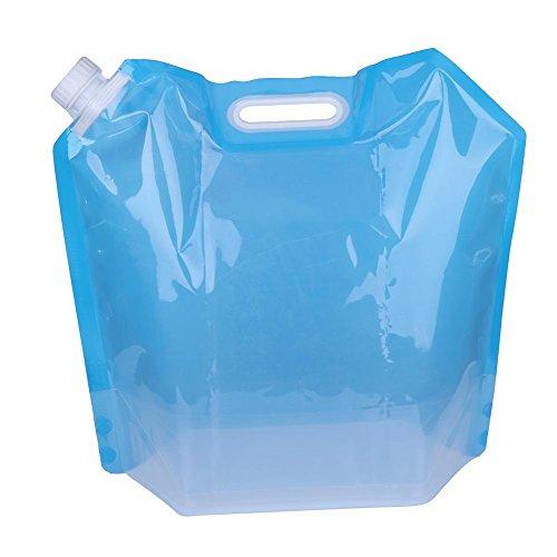 BMTLFG Bolsa de hidratación de 10 litros, bolsa de hidratación, resistente al polvo y antimicrobiano al aire libre, muy adecuada para montar en exteriores, camping, barbacoas de picnic (azul)