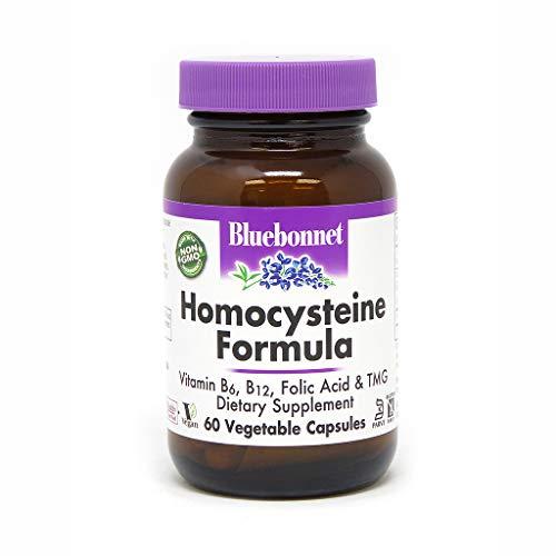 BlueBonnet Homocysteine Formula Supplement, 60 Count
