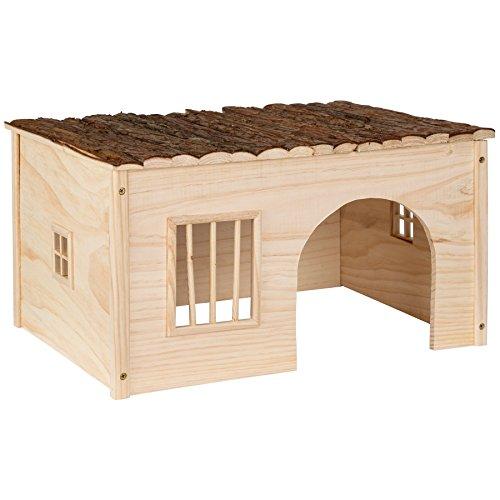 TecTake Maison pour rongeurs | -diverses tailles au choix- (L 53x28x41 cm | no. 402581)