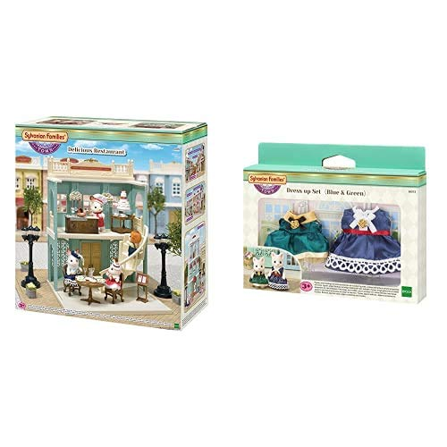 Sylvanian Families - 6018 - Delicious Restaurant + - 6002 - Set de Stella Chocolate
