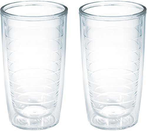 Tervis Clear & Colorful Insulated Tumbler, 16oz-2pk, Clear - Tritan