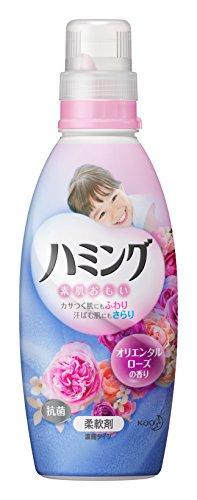 ハミング 柔軟剤 オリエンタルローズの香り 本体 600ml