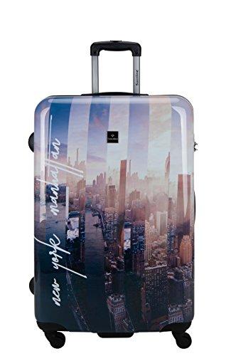 Saxoline Koffer Manhattan ABS-PC Trolley Größe L 1387H0.71.09 (direkt vom Hersteller)