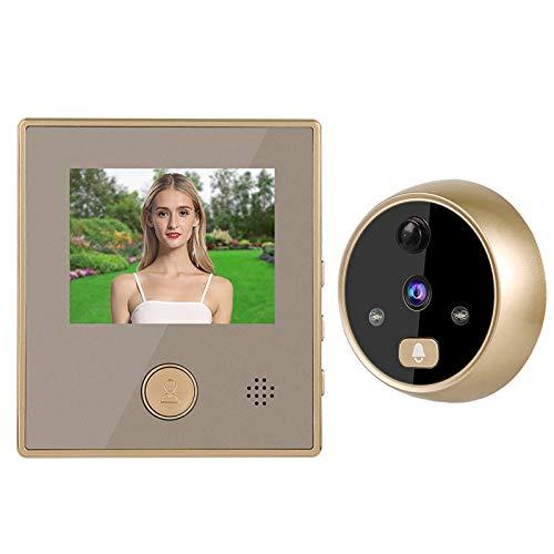Visión nocturna infrarroja del timbre video de la exhibición del LCD de 3 pulgadas, para la seguridad en el hogar