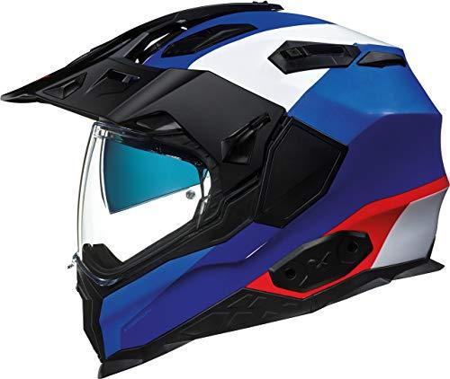 Nexx X.WED2 Duna Helm Schwarz/Weiß/Blau M