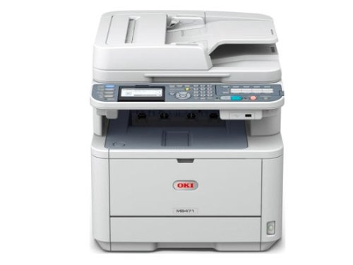 Oki Data MB MB471 Monochrome Printer with Scanner and Copier