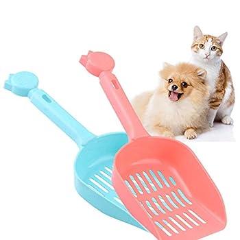 Manda Stell 1 Pelle à litière utile pour Chat en Plastique pour Animal Domestique
