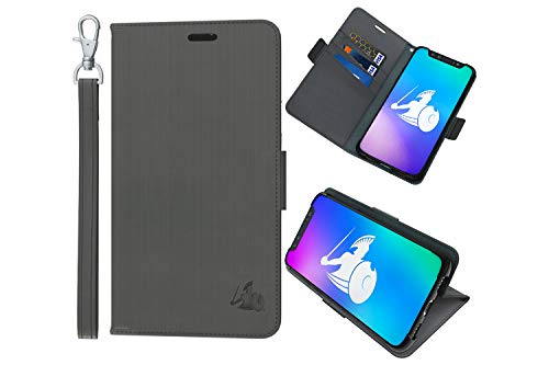 DefenderShield Compatible iPhone iPhone 8/7 / 6 / SE 2020 EMF & 5G Radiation Protection Case - Detachable Magnetic Anti Radiation Shield & RFID Blocker Wallet Case w/Wrist Strap