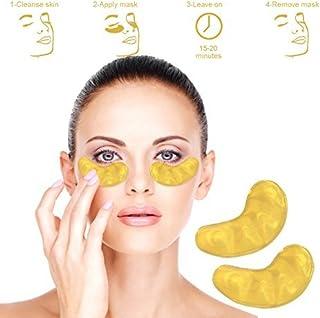 Mascarilla de colageno para ojos con base de Oro (10 sobres