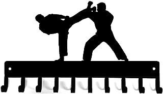 The Metal Peddler Karate Sparring Medal Hanger Rack & Belt Hanger