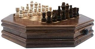 Luckyw Handgjorda schackdelar och förvaringsplatser
