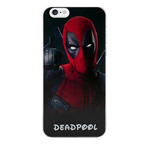 iPhone 5/5s Cómic Carcasa de Telefono / Cubierta para Apple iPhone 5s 5 SE / Protector de Pantalla y Paño / iCHOOSE / Deadpool