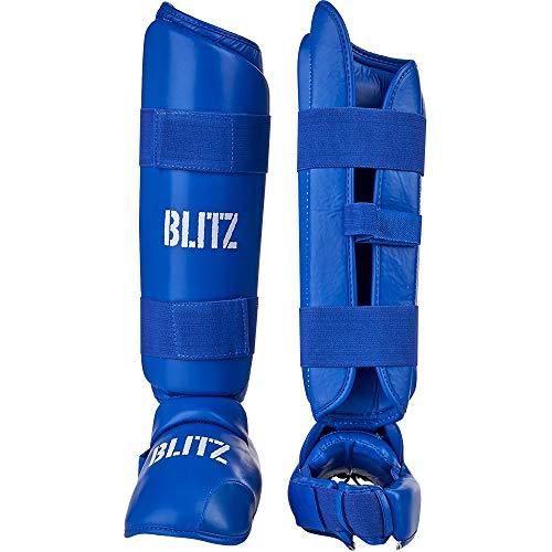 Blitz Blitz Elite Schienbeinschoner, blau, XL
