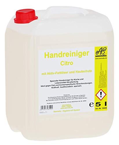 Limpiador de manos Citro con fuerza desengrasante, 5 l