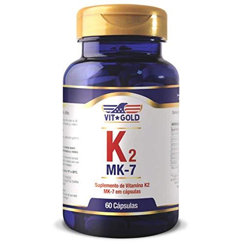Vitamina K2 MK-7 100mcg Vitgold 60 cápsulas