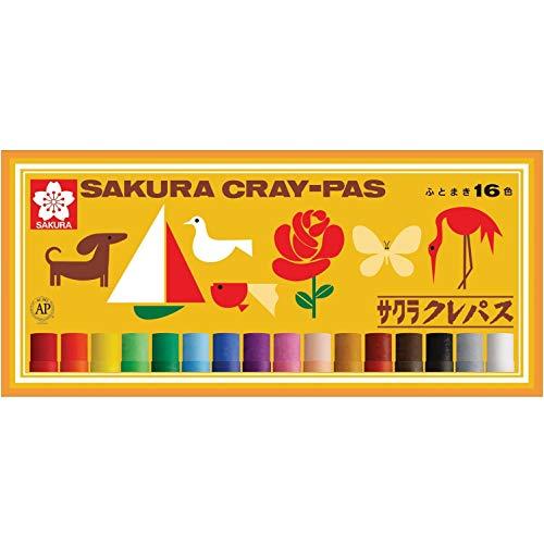 SAKURA CRAY - PAS Thick Rolled Pastel Crayons