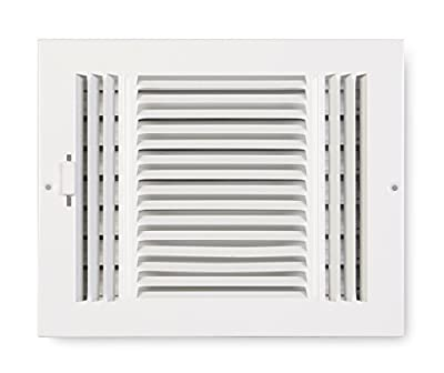Accord ABSWWH3146 Sidewall/Ceiling Register with 3-Way Design