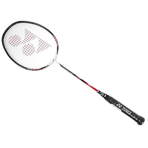 Yonex Nanoray 10F Badmintonschläger bespannt mit Hülle (rot)