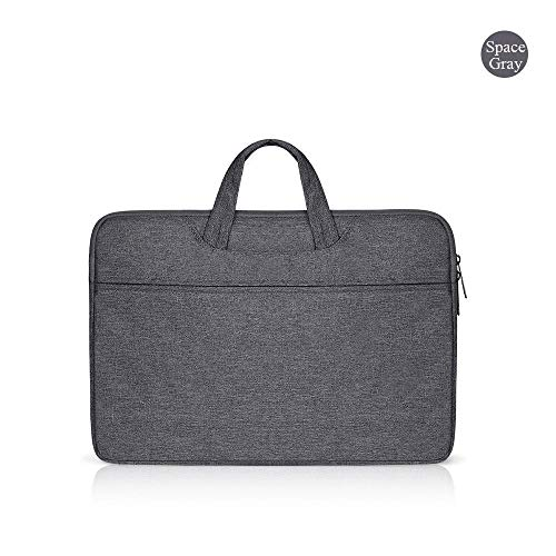 Yinghao 13 3 13 9 14 15 15 6 Laptop-Tasche Hülle Hülle für MacBook Dell Samsung Asus Acer Toshiba Surface Pro Ultrabook Notebook@15,6 Zoll_Grau