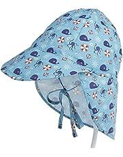 Wubxbvvx Sombrero de protección solar dulce de secado rápido para niñas sombrero deportivo proteger el cuello ojos sombrero ligero viaje compañero niño sombrero sol niñas de 2 a 4 años