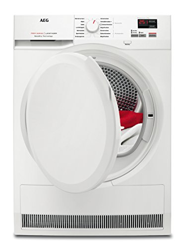 AEG T7DB40470 Wärmepumpentrockner / SensiDry – schonend und energiesparend / 7,0 kg / Mengenautomatik / Knitterschutz / Kindersicherung / Startzeitvorwahl