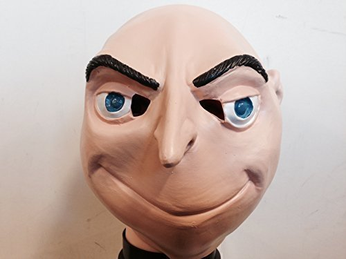 infantil felonious despicable villano látex Gru Máscara Disfraz infantil Felonius Me Halloween Disfraz