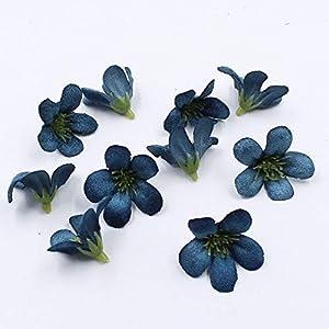 ShineBear 20pcs/lot Spring Silk Orchid Artificial Flower Heads,Gladiolus Cymbidium Flowers for Wedding Decoration