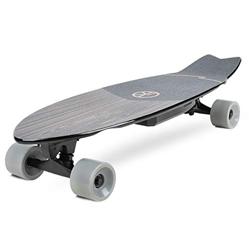 VOKUL V1 Electric Skateboard Cruiser | 10 Miles Max Range | 13 MPH Top Speed | 350W Hub Motor | Recommended Max Load 200 Lbs | PU Wheel 70x51 mm Grey | 7 Ply Maple Deck | 4.4Ah Lithium Battery