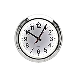 White LED Wall Clock
