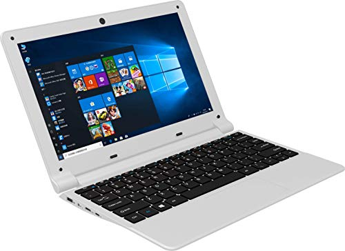 【Office 2019/8GB 】Only 0.9KG 11.6 inch Ultra-Thin Laptop Celeron J4105 Quad Core Processor 8G RAM/256GB SSD WiFi/HDMI High-spec Performance Notebook with Wireless Mouse (8G+256GB SSD, White)