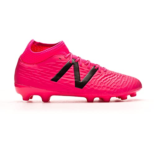 New Balance Tekela v3+ Magique AG, Bota de fútbol, Alpha Pink-Horizon, Talla 10.5 US (44.5 EU)