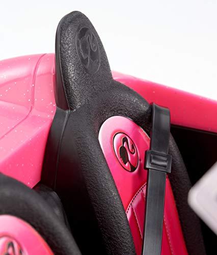 Voiture Décapotable Barbie Rose Toit Convertible - 4