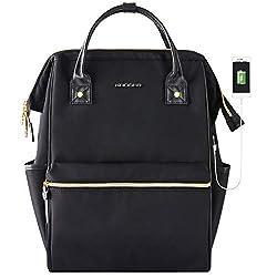 professional KROSER laptop backpack 15.6 inch stylish school computer backpack doctor bag water repellent…