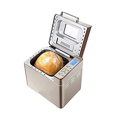 Panificadoras, Panificadora Hogareña Multifuncional Automática de Acero Inoxidable, Función de Memoria de Apagado, Preservación de Calor