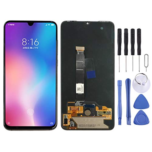 Phone Pantalla LCD y digitalizador Asamblea Completa for Xiaomi MI 9 (Negro) + Herramienta (Color : Black)