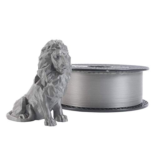 Prusament Galaxy Silver, PLA Filament 1.75mm 1kg Spool (2.2 lbs), Diameter Tolerance +/- 0.02mm