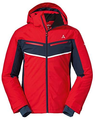 Schöffel Damen Ski Jacket, rot (high risk red), 52
