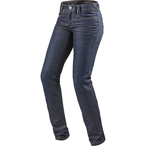 Revit Madison 2 Ladies Motorcycle Jeans Medium Blue L32, W26