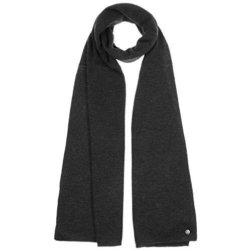 Lierys Echarpe Fine Merino en Tricot Femme/Homme - Made in Germany echarpe finement tricotee pour homme laine merinos automne-hiver - taille unique an
