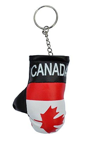 Canada Mini Gepolsterter Boxhandschuh Schlüsselring - (Boxing Glove Keyring)