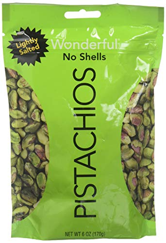 WONDERFUL PISTACHIO Lightly Salted Pistachios, 6 OZ